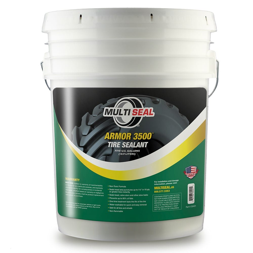 5 gallons of Armor 3500 tire sealant